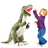 Prextex 24 ' Felpa Gigante Dinosaurio T-Rex Jumbo Mimosa Suave Dinosaurio Juguetes para los niños...