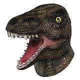 Molezu máscara de dinosaurio, Máscara de dinosaurio halloween, Novedosa máscara de fiesta de...