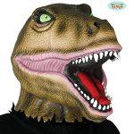 careta de latex dinosaurio feroz