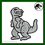 t-rex para bordar imagen
