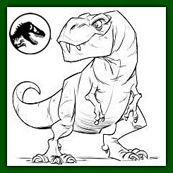 Dibujos Del Dinosaurio T Rex Para Descargar Gratis2020