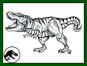 t-rex majestuoso gritando en imagen