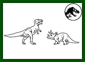 tiranosaurio contra triceraptor
