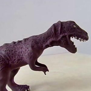 Como hacer un Tiranosaurio Rex de plastilina