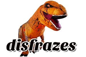 T-Rex Disfraz de Dinosaurio Inflable para adulto y niño Barato