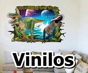 pegatinas y murales de vinilo con t-rex