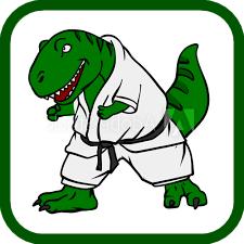 artes marciales y peleas de dinosaurio dibu