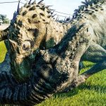 tiranosaurio rex animado