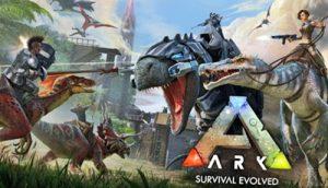 Video juego dinosaurios ark survival evolved