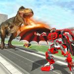 dinosaurios versus Robot