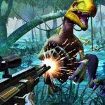 Juego de cazar dinosaurio