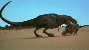 rex mata dinosaurio