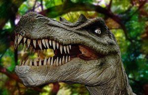 imagen dinosaurio agresivo