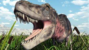 tirannosaurio peleando