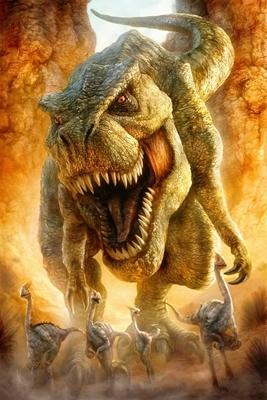 dinosaurio cazando imagen
