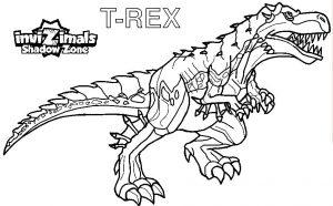 dibujo dinosaurio para copiar