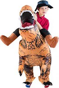 Disfraz Hinchable de Dinosaurio Niño