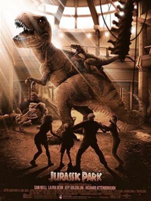 rex atacado por velociraptors
