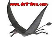 logotipo dinosaurio volador
