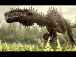 dibujo de dinosaurio muy agresivo