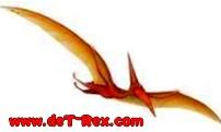 pterosaurio volador