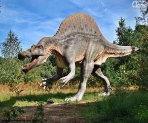 dinosaurio en ataque