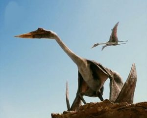 imagen realista pterosaurio
