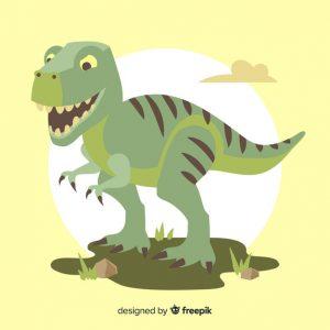 dibujo rex por ordenador