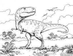 tyrannosaurus dibujo