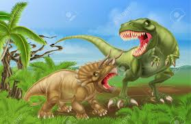 triceraptops contra rex