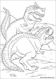 dibujo de peleas de dinosaurios rex