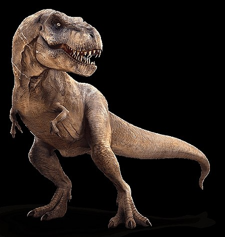 dibujo pose del rex