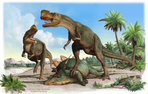dinosaurio mata estegosaurio