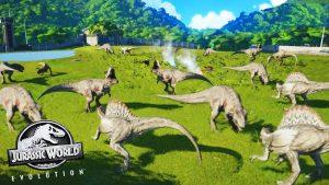 dinosaurios escapan