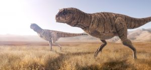 huida de dinosaurios