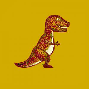 dibujo t rex original