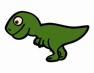 dibujo infantil rex