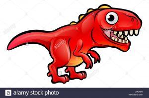 tiranosaurio rojo