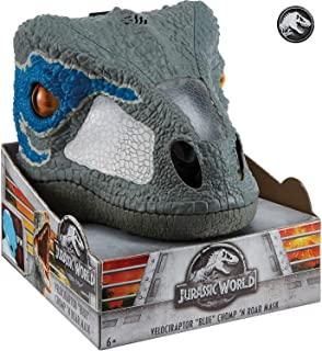 mascara de dinosaurio de jurassic world