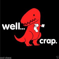chiste por que un rex no puede limpiarse el culo